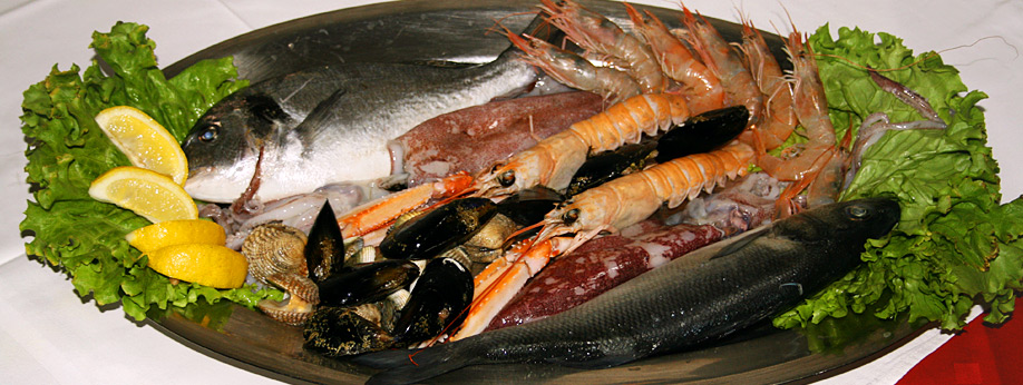 We serve freshly caught fish from the Adriatic sea!