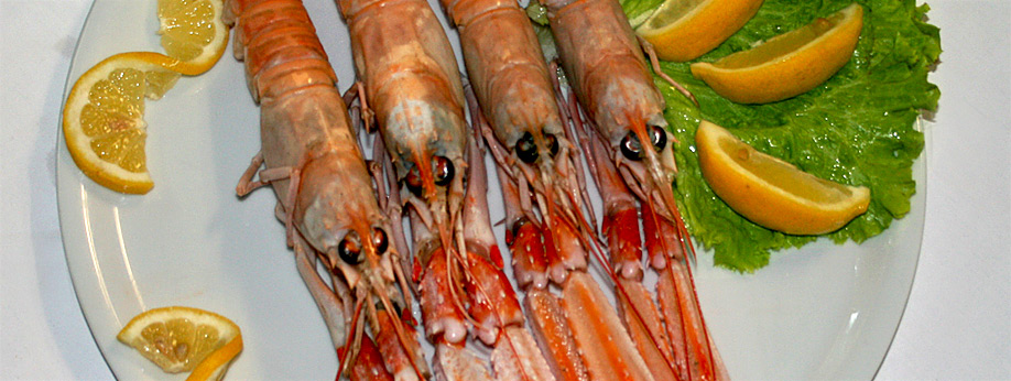 Delicious Dalmatian fish and meat specialties in »Posejdon« restaurant